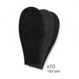 Рефиллы Black Refill Pad Сменные Черные для Педикюрной Пилки Personal Gadget #100, 10 шт
