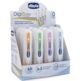 Термометр Педиатрический DigiBaby, 3-в-1 Цифровой в Футляре, 0 мес.+