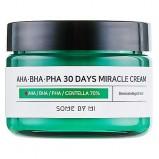 Крем AHA-BHA-PHA 30Days Miracle Cream с 3 Видами Кислот и Центеллой, 60г