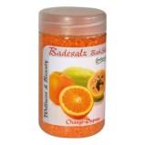 Соль Badesalz Orange-Papaya для Ножных Ванн Апельсин и Папайя, 350 мл