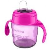 Чашка-Поильник (200 мл, 6 мес+) Розовая Comfort