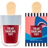 Тинт Dear Darling Water Gel Tint Shark Red для Губ Увлажняющий Гелевый, 4,5г