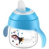 Чашка-Поильник (200 мл, 6 мес+) Голубой для Детей до 3-х Лет