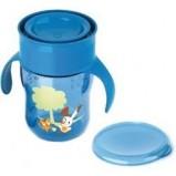 Чашка-Поильник 260 мл, 9 мес+ (голубая, розовая)