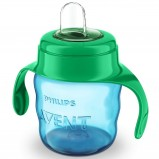Чашка-Поильник (200 мл, 6 мес+) Голубая Comfort