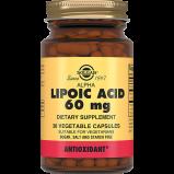 Кислота Alpha Lipoic Acid Альфа-Липоевая Капсулы №30