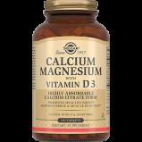 Кальций - Магний Calcium Magnesium with Vitamin D3 с Витамином D3 Таблетки №150
