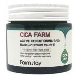 Крем-Бальзам Cica Farm Active Conditioning Balm Восстанавливающий для Лица с Центеллой Азиатской, 80г