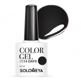 Гель-Лак Solomeya Color Gel Perfectly Black SCG003 Идеально Черный 60, 8,5 мл