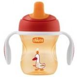 Чашка-Поильник Training Cup (Полужесткий Носик), 1 шт., 6 мес+, 200 мл, Цвет Красный