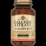 Кальция Calcium Citrate + Vitamin D3 Цитрат с Витамином D3 Таблетки №60