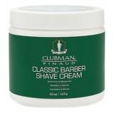 Крем Clubman Shave Cream Классический Универсальный для Бритья, 453 мл