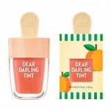 Тинт Dear Darling Water Gel Tint Apricot Red Увлажняющий Гелевый для Губ Красный Абрикос, 4,5г
