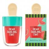 Тинт Dear Darling Water Gel Tint Watermelon Red Увлажняющий Гелевый для Губ Красный Арбуз, 4,5г
