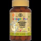 Жевательные Таблетки Kangavites Кангавитес с Мультивитаминами и Минералами со Вкусом Тропических Фруктов №60