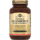 Клюква Natural Cranberry with Vitamin C Натуральная с Витамином С Капсулы №60