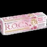 Паста R.O.C.S. Kids Sweet Princess Зубная с Ароматом Розы, 45 гр