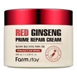 Крем Red Ginseng Prime Repair Cream Восстанавливающий с Экстрактом Красного Женьшеня, 100 мл