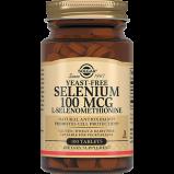 Таблетки Selenium 100 Mcg Селен 6 100 мкг №100