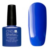 Покрытие Shellac New Wave # 91406 Blue Eyeshadow Гелевое, 7,3 мл