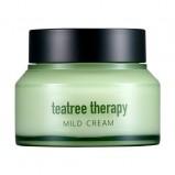 Крем Tea Tree Therapy Mild Cream с Экстрактом  Чайного Дерева, 70г