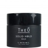 Воск Theo Wax Solid Hold для укладки волос сильной фиксации, 60г
