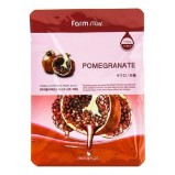 Маска Visible Difference Mask Sheet Pomegranate Тканевая для Лица с Натуральным Экстрактом Граната, 23 мл