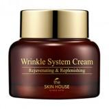 Крем Wrinkle System Антивозрастной Питательный с Коллагеном, 50г