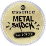 Эффектная Пудра для Ногтей B-To-B Metal Shock Nail Powder, Золотой тон 04